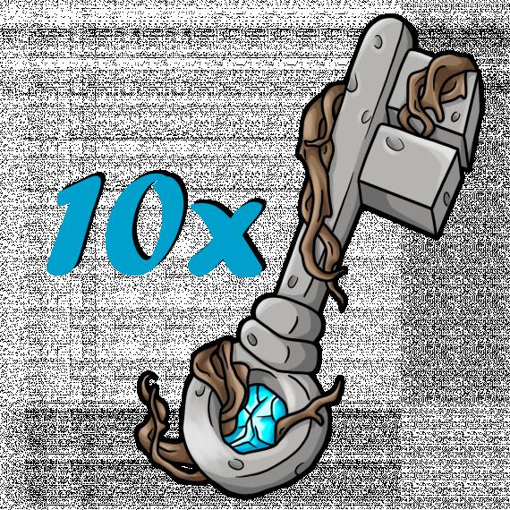 10 Crate Keys