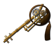5 Steampunk Keys